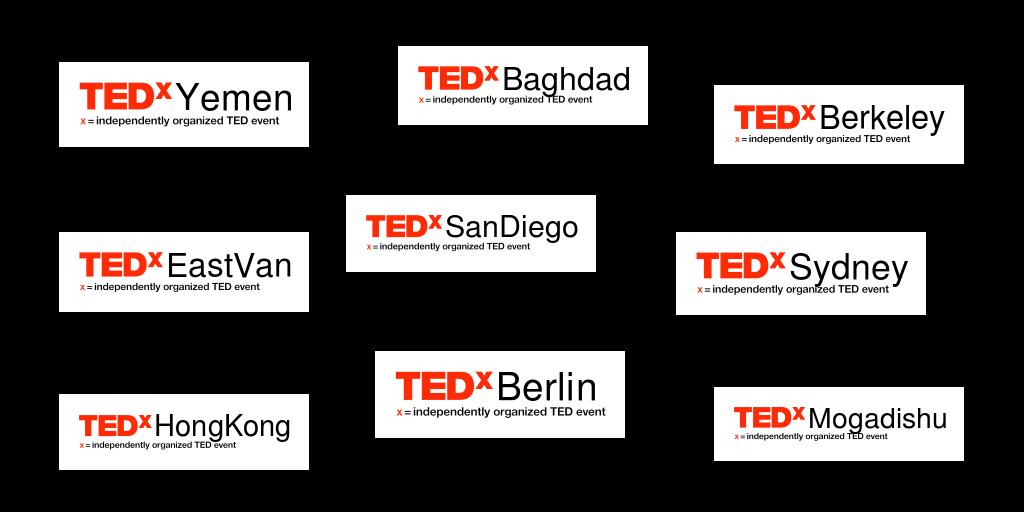 TEDx Event Logos