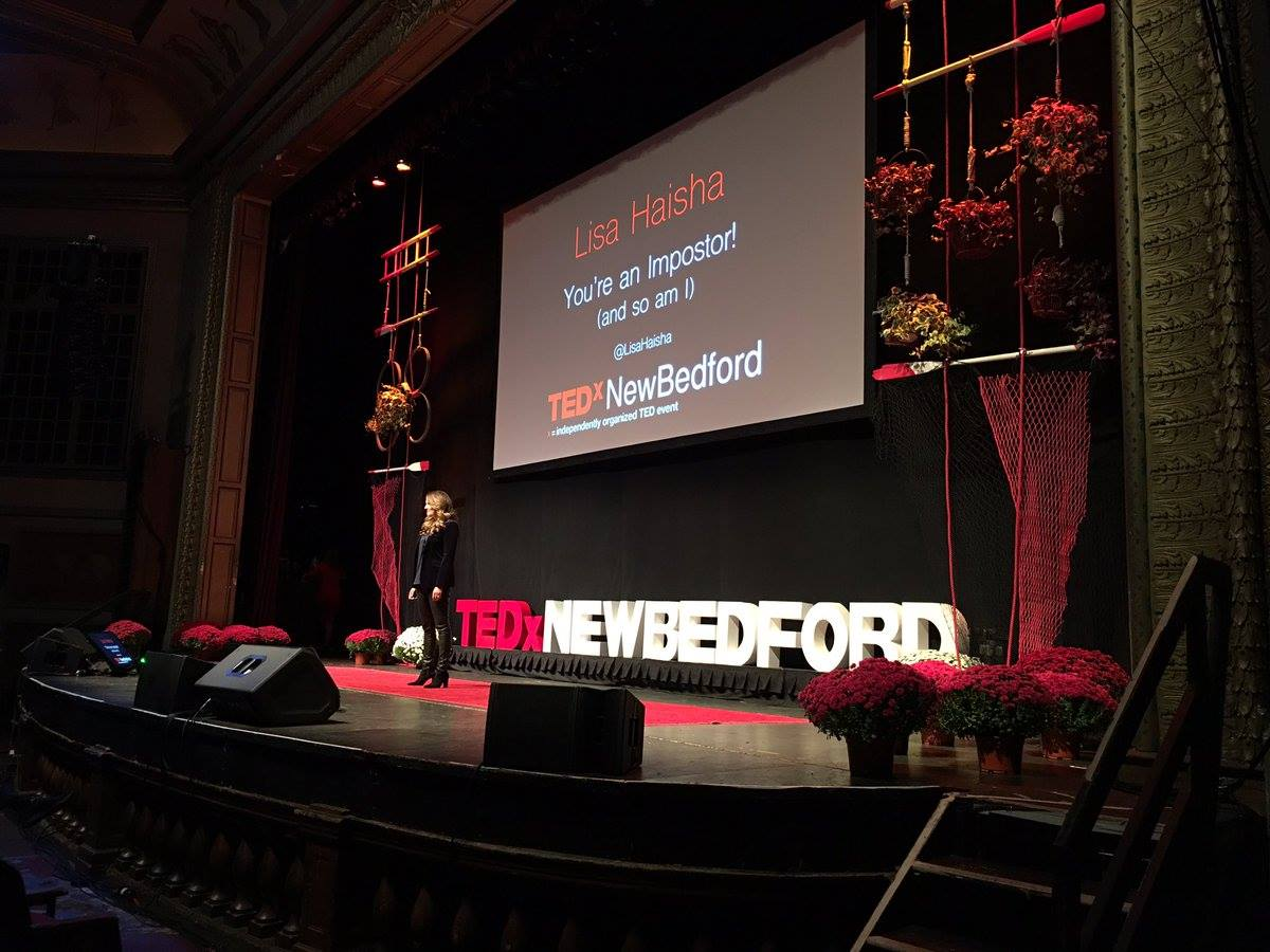 Lisa Haisha at TEDxNewBedford 2016