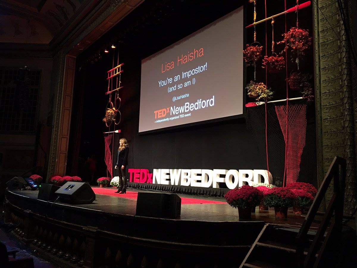 Lisa Haisha at TEDxNewBedford 2016