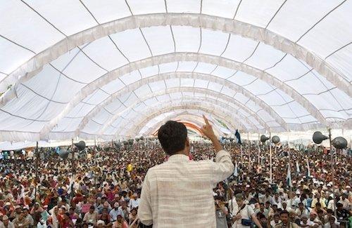 Rajagopal Speaking to 25,000 People