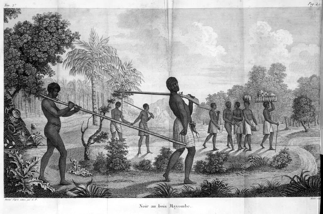 Capture and Coffle of Enslaved Africans