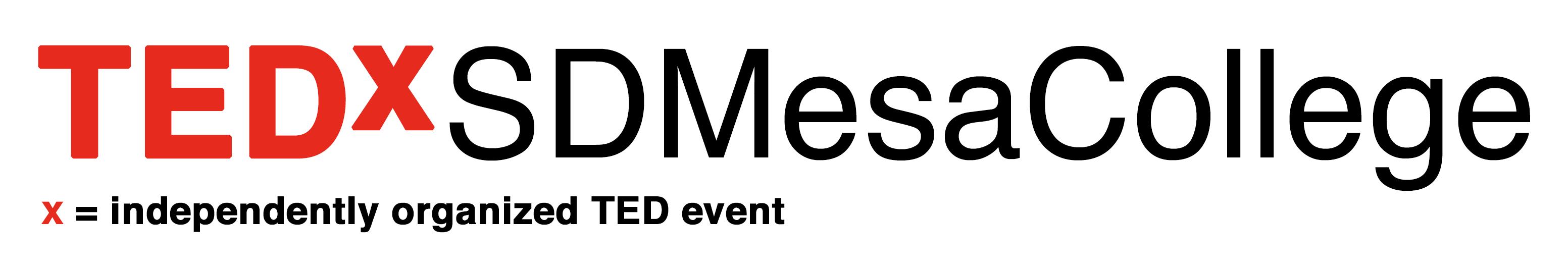 TEDxSDMesaCollege in San Diego California